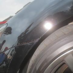レクサス 左フロントフェンダ 板金塗装&バンパーカバー修理費用 70,000円