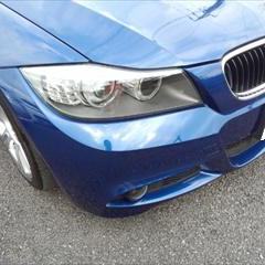 BMW3シリーズ ABA-VA20 フロントバンパー左右修理費用 工賃60,000円