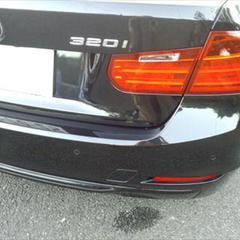 BMW DBA-3B20 リアバンパー修理費用 工賃45,000円