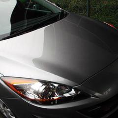 マツダアクセラ DBA-BL5FP ボンネット修理費用塗装 工賃70,000円