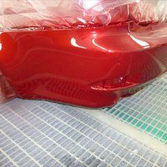 トヨタレクサス DBA-GSE20 リアバンパー修理費用 工賃45,000円/左リアバンパーリフレクター 部品代2,550円