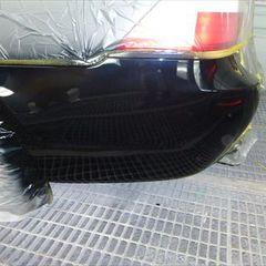 BMW 5シリーズ ABA-PU25 リアバンパー修理費用 工賃40,000円
