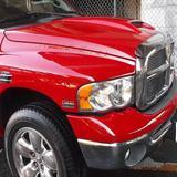ダッジラムトラック 右フロントフェンダ板金塗装、ハードトップ・ガラス脱着 総工賃200,000円