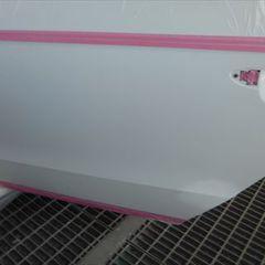 フォルクスワーゲンパサート DBA-3CCAX 左クオータパネル・左リアドア板金塗装 総工賃140,000円/グリル他交換 部品代計36,900円
