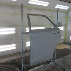 トヨタハリアー CBA-ACU30W 左リアドア板金塗装 工賃60,000円