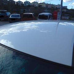 トヨタハリアー CBA-ACU30W ルーフ板金・塗装、ガラスコーティング、他 総工賃135,000円/ルーフアンテナ、ルーフ基盤 部品代計14,600円