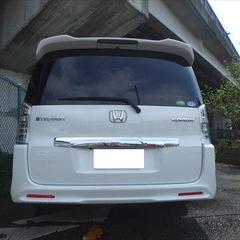 ホンダステップワゴンスパーダ DBA-RK5 左リアドア他板金、リアバンパー脱着修理費用、塗装、他 総工賃185,500円