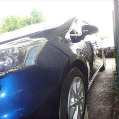 トヨタプリウスα DAA-ZVW41 左クォーター・パネル、左リアドアパネル板金、リアバンパーカバー他脱着・修理費用、塗装 総工賃208,830円