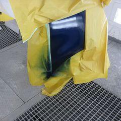 トヨタSAI DAA-AZK10 左リアドア板金、左クォーター・パネル板金、リアバンパー修理費用、塗装 総工賃130,000円/合計金額(税込)140,400円