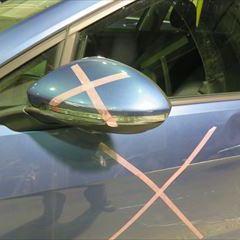 トヨタレクサスCT DAA-ZWA10 右クォーターパネル板金、塗装 工賃70,000円/合計金額(税込)75,600円