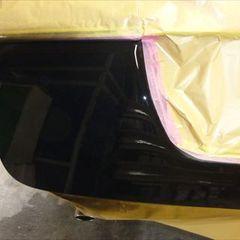 スバルレガシィツーリングワゴン CBA-BP5 リアバンパー・左テールランプ交換、バックパネル・バックドア板金塗装