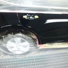トヨタハリアー DBA-ZSU60W 右リアドア、右クォーター・パネル板金塗装 工賃100,000円/合計金額(税込)108,000円