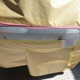 サーブ9-3シリーズ(ABA-FB207):フロントナンバー部分修理費用・塗装 作業工賃70,000円/合計金額(税込)75,600円