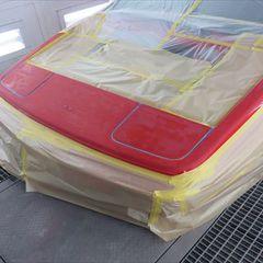 ロータスエスプリ(E-82HI):フロント周りの修理費用、塗装 作業工賃200,000円/合計金額(税込)216,000円
