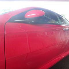 アルファロメオのアルファGT(GH-93720L):左リアドア、左クォーター・パネル板金、塗装 作業工賃250,000円/合計金額(税込)270,000円