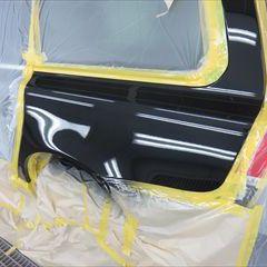 ボルボV70(DBA-BB4164TW):左クォーター・パネルの板金、塗装 作業工賃80,000円/合計金額(税込)86,400円