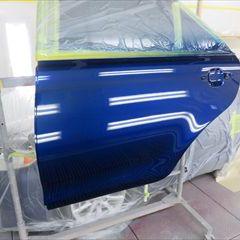 トヨタのカムリ(DBA-ACV40):左リアドア、左クォーターパネル板金、リアバンパー修理費用、塗装 作業工賃175,000円/合計金額(税込)189,000円