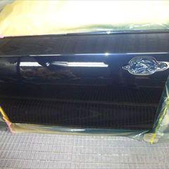 BMWの5シリーズ(ABA-NE25):左リアドア、左アルミディスク交換など/左リアフェンダ、リアバンパー他の脱着、修理、塗装