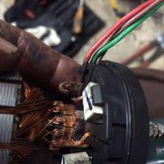 アルファロメオ アルファ156(GH-932BW):ワイパーモーター修理費用、エレクトリックコントロールモジュール修理費用 技術料20,000円(税別)