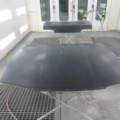 日産のスカイラインGT-R:オールペイント作業・ガラスコーティング 工賃92万円(税抜き)