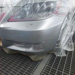 レクサスのL600:フロントバンパー脱着修理費用、分解、塗装 作業工賃59,000円/合計金額(税込)63,720円