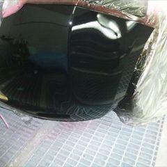 日産のリーフ(ZAA-AZE0):傷の修理方法と費用 リアバンパー修理費用、塗装 作業工賃35,000円/合計金額(税込)37,800円