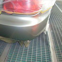スバルのインプレッサ(GH-GDB):リアバンパー右修理費用、塗装 作業工賃38,000円/合計金額(税込)41,040円