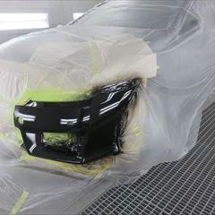 トヨタのクラウン(DBA-GRS200):フロントバンパー修理費用、塗装 作業工賃45,000円/合計金額(税込)48,600円