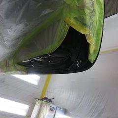 トヨタのアルファード(DBA-GGH25W):リアゲート板金、塗装 作業工賃65,000円/リアゲートエンブレム交換 部品代金4,170円/合計金額(税込)74,703円
