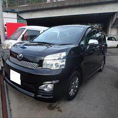 トヨタのヴォクシー(DBA-ZRR70W):フロントバンパー修理費用、塗装 作業工賃38,000円
