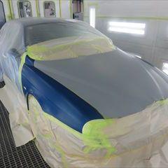 アルファロメオのアルファ156(GH-932AXB):ボンネット、左右フェンダー修理、塗装 作業工賃230,000円/合計金額(税込)248,400円
