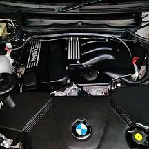 BMWの5シリーズ(ABA-NE25):エンジン不動修理、オイル漏れ修理、スターター、クランクセンターなどの交換、24カ月点検、車検代行