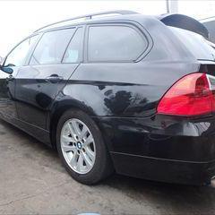 BMWの3シリーズ(ABA-VR20):左フロントドア、左テールランプ他の交換、左リアドア、フロントバンパー、左クォーターパネル他の脱着、修理、塗装など