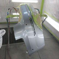 アウディのA4(ABA-8WCYRF):左クォーターパネル、リアバンパー板金、塗装 作業工賃210,000円/合計金額(税込)226,800円