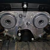 メルセデスベンツのCクラス(DBA-203246):エンジンチェックランプ点灯修理、クーリングFAN、カムアジャスタなどの交換 部品代112,260円/技術料41,000円(税別)