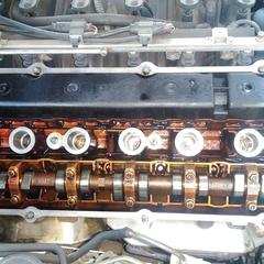 BMWの5シリーズ(GH-DT30):Fショック・Rショック交換、関連部品交換
