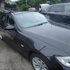 BMWの3シリーズ(ABA-VR20):右リアドアパネル、右アウターシルガーニッシュ交換、右クォーターパネル、右ロックピラー、リアバンパー板金、脱着、塗装 作業工賃(部品代込)250,000円/合計金額(税込)270,000円