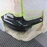 フォードのエクスプローラー(ABA-1FMHK8):フロントバンパーロア、右フェンダー他の交換、フロントバンパー、ヘッドライト、リアバンパーなどの脱着、修理、塗装