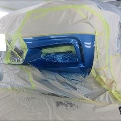 BMWの4シリーズ(DBA-4A28):フロントバンパー、左フロントドア板金、塗装 作業工賃260,000円/合計金額(税込)280,800円