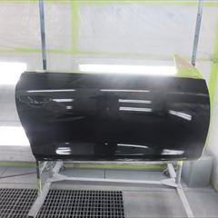フォルクスワーゲンのシロッコ(DBA-13CAV):右サイドシル、アルミホイール他の交換、右フロントドア、右クォーターパネル板金、右クォーターガラス、テールレンズ、リアバンパー脱着、修理、塗装、他