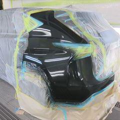 レクサスのNX200t(DBA-AGZ15):左クォーターパネル、リアバンパー修理、塗装、ガラスコーティング 作業工賃118,000円/合計金額(税込)127,440円