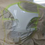 アバルトの124スパイダー(CBA-NF2EK):フロントバンパー修理、塗装 作業工賃50,000円/合計金額(税込)54,000円