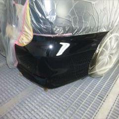 トヨタのエスティマ(DBA-ACR50W):リアバンパー修理 技術料4,0000円/合計金額(税込み)4,3200円