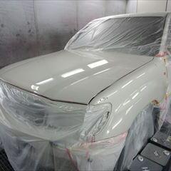 トヨタのアルテッツァ(GH-SXE10):フロント周り色あせ修理塗装 作業工賃250,000円 合計金額(税込み)270,000円