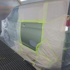 スズキのソリオ(DAA-MA36S):左スライドドア板金塗装 作業工賃50,000円/合計金額(税込み)54,000円