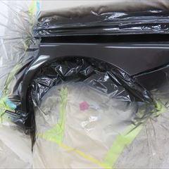 スズキのソリオ(DBA-MA15S):左クォーターパネル板金塗装 作業工賃55,000円 合計金額(税込み)59,400円