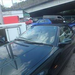 BMWの3シリーズ(GH-AV30):左クォーターパネル、サイドシル板金塗装 作業工賃135,000円 合計金額(税込み)145,800円