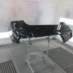 BMWの3シリーズ(LDA-3D20):リアバンパー修理、塗装 作業工賃98,000円/合計金額(税込)105,840円