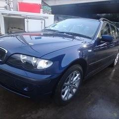 BMWの3シリーズ(GH-AY20):フロントバンパー修理、バンパーモール(持込)交換 作業工賃70,000円/合計金額(税込)75,600円