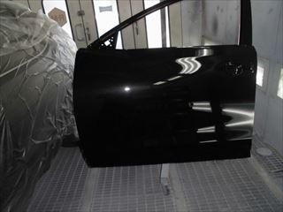 エクストレイル左フロントドア塗装後